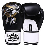 abordables Boxeo-Guantes de Boxeo para Boxeo Dedos completos Protector Piel Nailon