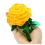 billige Legetøj og hobby-puslespil 3D-puslespil Byggesten Gør Det Selv Legetøj Roser Plastik Model- og byggelegetøj