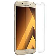 Недорогие Чехлы и кейсы для Galaxy A-Защитная плёнка для экрана Samsung Galaxy для A7 (2017) Закаленное стекло 1 ед. Защитная пленка для экрана Взрывозащищенный Уровень