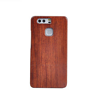 olcso Mobiltelefon tokok-cornmi Huawei P9 fa bambusz tok mobiltelefon fa houising héj védelem