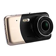 Недорогие Видеорегистраторы для авто-A701 Full HD 1920 x 1080 170° Автомобильный видеорегистратор mst 4 дюйма Капюшон Android APP Ночное видение G-Sensor Обноружение движения