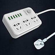 Ładowarka USB 6 portów Stacja do ładowania biur Z portem USB Uniwersalny Adapter ładujący