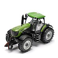 Terugtrekvoertuigen Speelgoedauto's Speeltjes Boerderijvoertuig Tractor Automatisch Metaallegering Metaal Unisex Jongens Geschenk Action