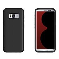 Недорогие Чехлы и кейсы для Galaxy S7 Edge-Кейс для Назначение SSamsung Galaxy S8 Plus S8 Защита от удара Кейс на заднюю панель Сплошной цвет Твердый ПК для S8 Plus S8 S7 edge S7