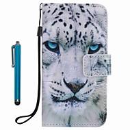 Для Кошелек Бумажник для карт со стендом Кейс для Чехол Кейс для Животный принт Твердый Искусственная кожа для SamsungA3 (2017) A5 (2017)