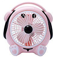 Kleine fan office om pagina's te zetten ventilator demp 220 v muziek schattige hond desktop fan