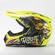 billige Daglige tilbud-mejia off-road motorcykel racing hjelm glans gul fuld ansigt dæmpning holdbar motorsport hjelm