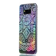 Недорогие Чехлы и кейсы для Galaxy S7 Edge-Кейс для Назначение SSamsung Galaxy S8 Plus S8 Покрытие Полупрозрачный С узором Кейс на заднюю панель Цветы Мягкий ТПУ для S8 Plus S8 S7