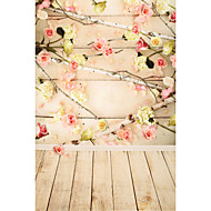5 * 7ft iso valokuvaus tausta tausta klassinen muoti puinen lattia studio ammattivalokuvaaja
