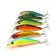 """6 szt Twarda Bait Ogólna nazwa kilku drobnych ryb Návnady Błystki Zestawy przynęt Przynęta twarda Wielokolorowy g/Uncja mm/3-5/16"""" cal,"""