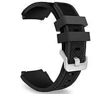 Недорогие Часы для Samsung-Ремешок для часов для Gear S3 Frontier Gear S3 Classic Samsung Galaxy Спортивный ремешок Фторэластомер Повязка на запястье