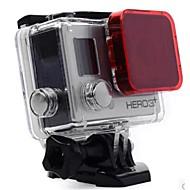 お買い得  スポーツカメラ & GoPro 用アクセサリー-アクセサリー ダイブフィルター 高品質 ために アクションカメラ Gopro 4 Gopro 3 Sport DV 潜水