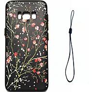 Etui Til Samsung Galaxy S8 Plus S8 Belægning Mønster Bagcover Blomst Blødt TPU for S8 S8 Plus S7 edge S7 S6 edge S6 S5