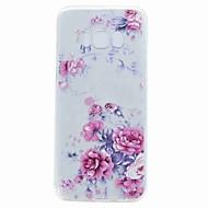 Кейс для Назначение SSamsung Galaxy S8 Plus S8 Полупрозрачный С узором Задняя крышка Цветы Мягкий TPU для S8 S8 Plus S7 edge S7 S6 edge