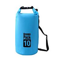 abordables Bolsas y cajas impermeables-10L Bolso seco impermeable Ligeras, Flotante, Impermeable para Surfing / Buceo / Natación