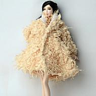 abordables -Casual Más Accesorios por Barbiedoll Lana Polar Chaqueta por Chica de muñeca de juguete