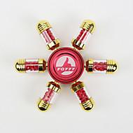 Fidget Spinners Przędzarka ręczna Zabawki Sześć Spinner Metal Tworzywo sztuczne Mosaz EDCStres i niepokój Relief Zabawki biurkowe Za czas