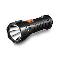 abordables Luces de Emergencia-Yage-3738 llevado linterna 1pcs linterna recargable incorporado en la luz de la batería linterna de 2 modos lanterna lampe torche batería