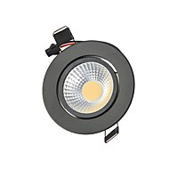 3W 2G11 LED Downlights Recessed Retrofit 1 COB 250 lm Warm White Cold White K Decorative Dimmable AC 110-130 AC 220-240 V