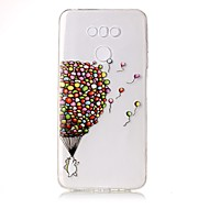halpa Puhelimen kuoret-Etui Käyttötarkoitus LG Läpinäkyvä Kuvio Koristeltu Takakuori Balloon Pehmeä TPU varten LG G6