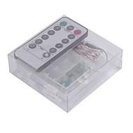 お買い得  LEDストリングライト-5W ストリングライト バッテリー 5m 50 LEDの ウォームホワイト ホワイト RGB ブルー