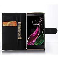 お買い得  携帯電話ケース-ケース 用途 LG L90 LG G2 LG G3 LG L70 LG K8 LG LG K5 LG K4 LGネクサス5X LG K10 LG K7 LG G5 LG G4 カードホルダー ウォレット 耐衝撃 スタンド付き フルボディーケース 純色 ハード PUレザー