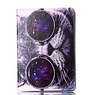 Apple iPad pro 9.7 '' ipad 5 ipad 6 suojus kissa kuvio kortti stentin PU-materiaalista litteä suojaa kuori