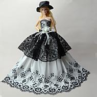 abordables -Fiesta / Noche Vestidos por Barbiedoll Tela de Encaje / Organdí Vestido por Chica de muñeca de juguete