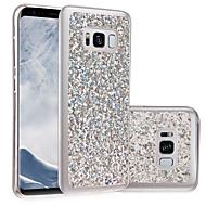 Case Kompatibilitás Samsung Galaxy S8 Plus S8 IMD DIY Hátlap Csillogó Puha TPU mert S8 S8 Plus S7 edge S7 S6 edge S6