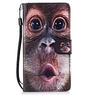 Для Чехлы панели Кошелек Бумажник для карт со стендом Флип С узором Магнитный Чехол Кейс для Животный принт Твердый Искусственная кожа для