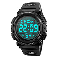 cheap Digital Watches-SKMEI Men's Digital Digital Watch / Wrist Watch / Military Watch / Sport Watch Japanese Alarm / Calendar / date / day / Chronograph /