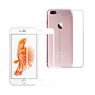 Недорогие Защитные плёнки для экрана iPhone-Защитная плёнка для экрана для Apple iPhone 8 Pluss Закаленное стекло 1 ед. Защитная пленка для экрана и задней панели HD / Уровень защиты 9H / Взрывозащищенный