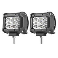 abordables Accessoires Electroniques-2pcs Automatique Ampoules électriques 27W SMD 3030 5400lm LED Lampe de Travail