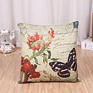 baratos Têxteis Para a Casa-1 pçs Algodão/Linho Cobertura de Almofada Fronha