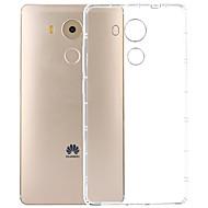 お買い得  携帯電話ケース-ケース 用途 Huawei / Huawei社メイト8 クリア バックカバー クリア ソフト TPU のために Huawei Mate 8 / Huawei