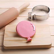 お買い得  キッチン用小物-バルーンクッキーカッターステンレスビスケットケーキ金型キッチンベーキングツール