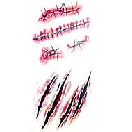 Временные тату Тату с тотемом С рисунком Нижняя часть спины Waterproof Женский Мужской Подростки Вспышка татуировки Временные татуировки