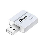 Dtech dt-6006 externe geluidskaart vrije drive 5.1 koptelefoon converter stereo geluid ondersteunen mix