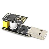 USB to ESP-01 Adatper  Black ESP-01 ESP8266 Wi-Fi Wireless Module