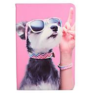 Χαμηλού Κόστους Θήκες/Καλύμματα για iPad-tok Για Apple iPad 4/3/2 iPad Air 2 iPad Air με βάση στήριξης Ανοιγόμενη Με σχέδια Πλήρης Θήκη Σκύλος Σκληρή PU δέρμα για iPad 4/3/2 iPad