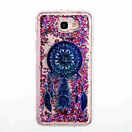voordelige Galaxy J3(2016) Hoesjes / covers-hoesje Voor Samsung Galaxy J7 Prime J5 Prime Stromende vloeistof Patroon Achterkant Dromenvanger Zacht TPU voor J7 Prime J7 (2016) J5