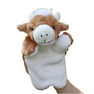 ราคาถูก -Finger Puppet Puppets Cow น่ารัก สัตว์ต่างๆ Tactel Plush สำหรับเด็ก Toy ของขวัญ