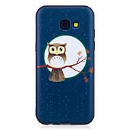 olcso Galaxy A5(2016) tokok-Case Kompatibilitás Samsung Galaxy A5(2017) A3(2017) Minta Fekete tok Bagoly Puha TPU mert A3 (2017) A5 (2017) A5(2016) A3(2016)