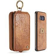 Недорогие Чехлы и кейсы для Galaxy S8 Plus-Кейс для Назначение SSamsung Galaxy S8 Plus S8 Бумажник для карт Кошелек Защита от удара Поворот на 360° Чехол Сплошной цвет Твердый