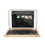 tanie Etui i pokrowce na iPada-Kılıf Na Apple Mini iPad 4 Mini iPad 3/2/1 Z klawiaturą Auto uśpienie / włączenie Flip Pełne etui Twarde na iPad Mini 4 iPad Mini 3/2/1