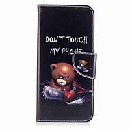 저렴한 -케이스 제품 Samsung Galaxy S8 Plus S8 카드 홀더 지갑 스탠드 플립 패턴 풀 바디 동물 하드 인조 가죽 용 S8 S8 Plus