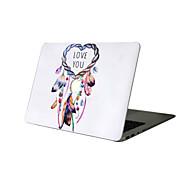 """お買い得  MacBook 用ケース/バッグ/スリーブ-MacBook ケース ドリームキャッチャー PVC のために 新MacBook Pro 15"""" / 新MacBook Pro 13"""" / MacBook Pro 15インチ"""
