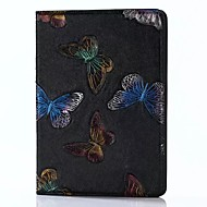 cheap -For iPad 2017 9.7inch Luxury Genuine leather Cases Cover Embossed Pattern  3D Cartoon Butterfly Case For ipad Air2/Air1/ipad Pro 9.7