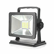 billige LED-projektører-15W 24 SMD 5730 1200 lm Varm hvid Kold hvid Rød Blå Vekselstrøm100-240 V 1 stk.