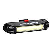 Pyöräilyvalot Polkupyörän jarruvalo LED LED Pyöräily Ulkoilu Vedenkestävä LED-valo USB Litium-paristo 100 Lumenia USBSininen Punainen